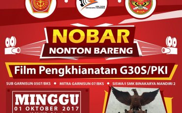 Acara Nonton Bareng Penghianatan G30S PKI