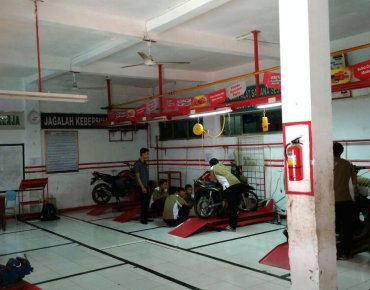 Workshop TBSM SMK BKM 2 Bekasi