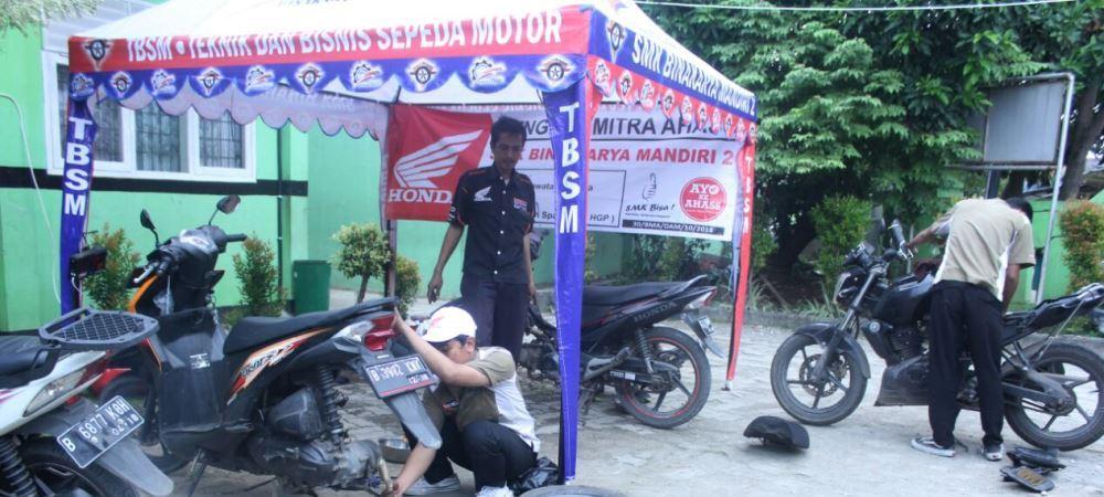 Safari Service Gratis TSM SMK BKM 2 Bekasi