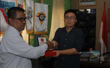 Wakil Chungyu University Keelung Taiwan Kunjungi SMK BKM 2 Bekasi